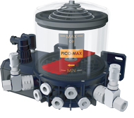 ILC PICO-MAX Electric Grease Pump, Ten volumetric outputs offered